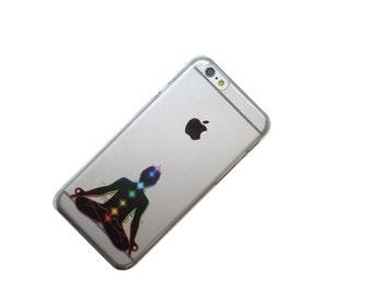Chakra Yoga Reiki iPhone Case, Transparent, Clear Phone Case, iPhone 6, iphone 7, iphone SE, iphone 6 Plus, iphone 7 Plus, iphone 5, galaxy