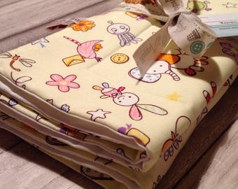 Baby Moses Basket / Crib Coverlet