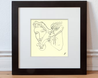 Spring drawing 15/15 cm (5.9/5.9 inch)