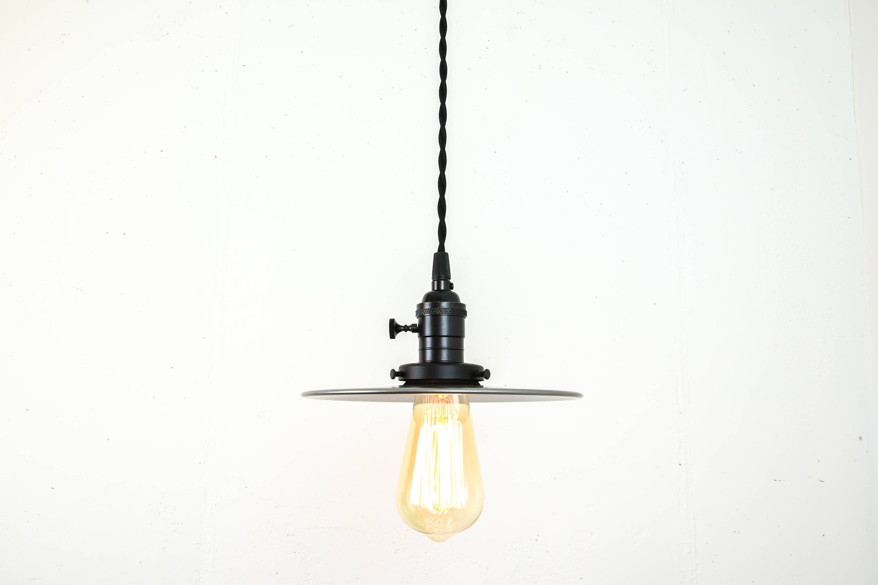 plug in industrial lighting. Unfinished Steel Pendant Light - Hanging Fixture Plug In Hardwired Industrial Lamp Modern Lighting P