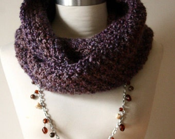 The Signature Series Infinity Scarf (Mini) | Amethyst