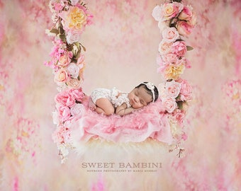 Digital Newborn backdrop - Alayah swing