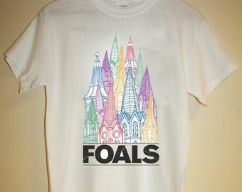 foals t-shirt band indie