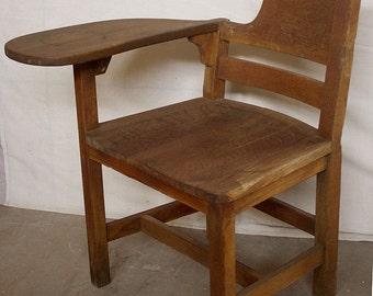 vintage child student wood metal desk chair haywood wakefield rh etsy com antique student desk chair antique student desk collectors