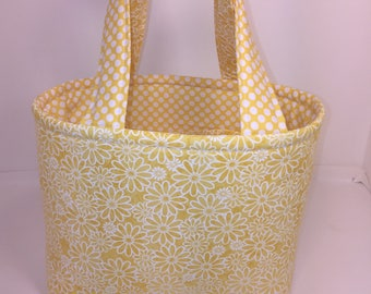 Small Tote/ Quad/ Bible/ Yellow