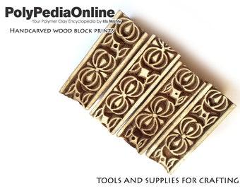 Block Print, Wood Block, Printing Stamps, Wood Stamp, Fabric Block, Wooden Print, Flower Stamp, Pattern Block, Pottery Stamp, Indian SALE