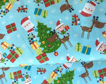 Christmas Novelty Cotton Fabric from AE Nathan
