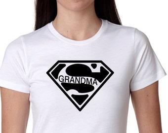 Super Grandma Shirt, Bridal Shower Gift, Wedding, Bride Shirt, Bachlorette Gift, wifey shirt Wifey Tee, Bridal Gift, Bride to be gift,