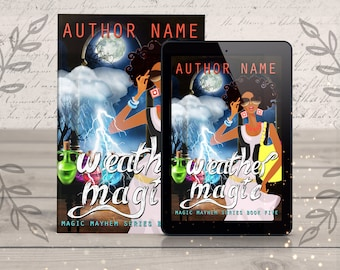 Magical Premade eBook Cover- paranormal witches story, magic fantasy novel, cover design, cover art, fantasy book, digital ebook designer