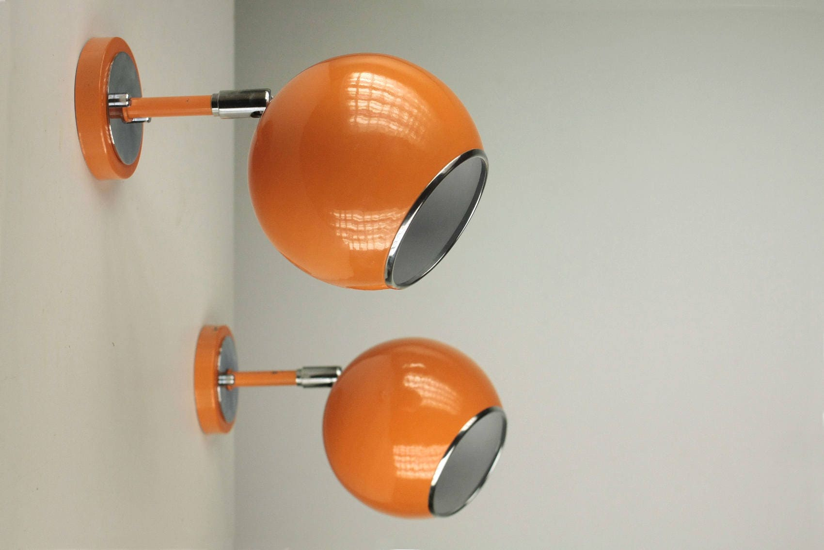 lamp en eyeball orange chromed age vintage fullxfull zoom space apply il listing retro