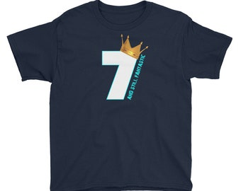 Birthday Shirt 7 Birthday