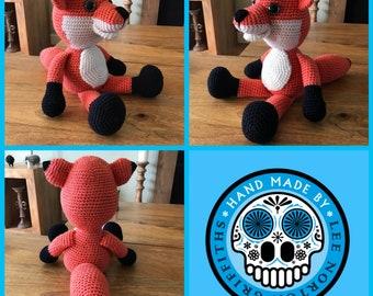 Amigurumi Fox Pattern, crochet fox pattern, fox pattern