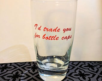 Fallout, gamer gifts, gifts for friends, funny cup, fallout 4, video games, gifts for gamers, fallout 3, pint glass, tumbler cups