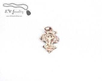 Cross, Byzantine Cross, Silver, Pendant, Fine Silver Cross , handmade jewelry,  silver jewelry, handmade pendant, handmade cross, religious