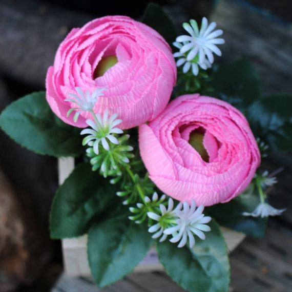 Paper ranunculus bulbs ranunculus flowerflower wooden box crepe paper ranunculus bulbs ranunculus flowerflower wooden box crepe paper ranunculus ranunculus bulbs flower box crepe paper flower from mpaperflowers on mightylinksfo