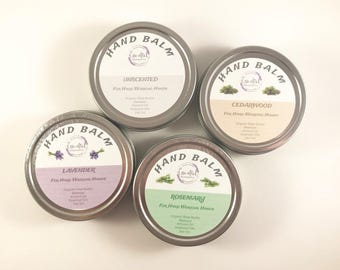 Hand Balm | Hand Lotion | Foot Balm | Shea Hand Cream | Natural Hand Cream | Organic Lotion | Beeswax Lotion | Just Because Gift