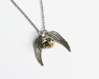 Large Snitch Necklace