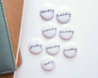 Weekly - Week in the Life inspired - Mini Flair Set