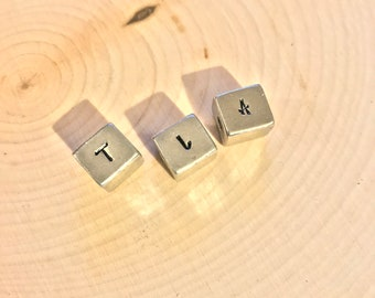 Personalized Block Letter Necklace