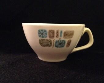 Vintage Temporama Canonsburg Tea Cup Eames Era Atomic c. 1960s