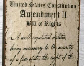 18 x 28 2nd Amendment sign