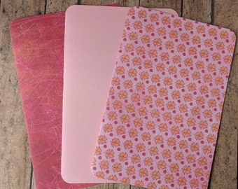 A5 TN cardstock double sided dashboards