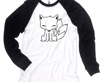 Kitsune Fox Shirt japanese long sleeve anime fox thermal shirt traditional asian fox design cool japanese sweater gothic fox with lantern TW90R7h