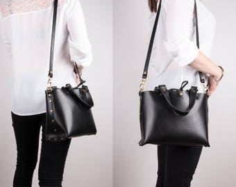 leather tote bags for women, tote bag, leather bag, gifts for women, black leather tote, custom leather tote, travel bag, cross body bag,