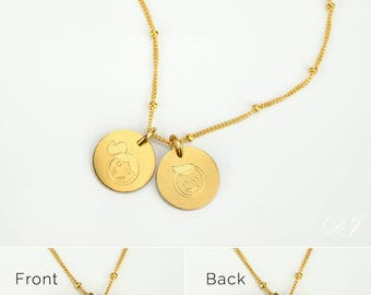 Mom Necklace with kids names rose gold mothers necklace gold boy girl necklace Date Necklace Personalized Mother's Necklace Mother's Jewelry