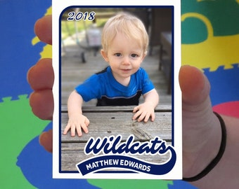 Custom Villanova Wildcats Baby Cards