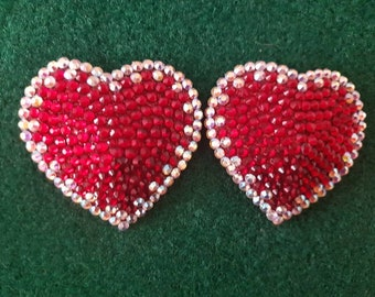 Crystal heart pasties AB/siam