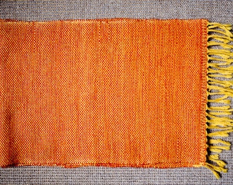 Scarf Bright Sun * handwoven wool