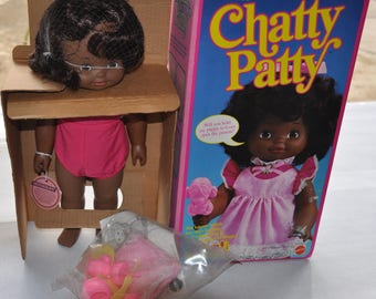 chatty patty mint in box nrfb 1983. #7024 she