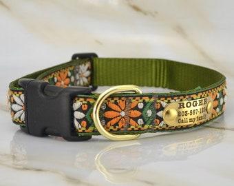 Free world-wide shipping!Hand made Dog collar