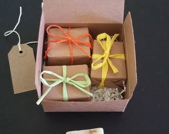 Mother's Day Gift, Citrus Soaps, Set of Soaps, Gift Set, Vegan Soaps, Vegan Gift, Vegan Mum, Vegan Male, All Natural Soaps, Cruelty Free
