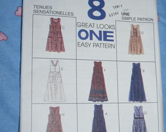 McCalls 7780 Misses Jumper Sewing Pattern - UNCUT - Size 8 10 12
