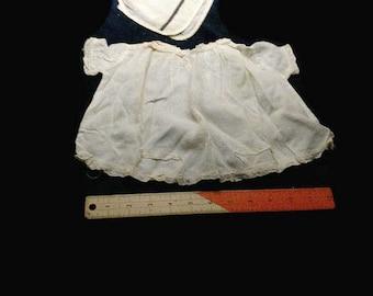 Baby doll dress / shirt and bonnet