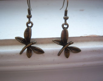Dragonfly Earrings - Free Gift With Purchase