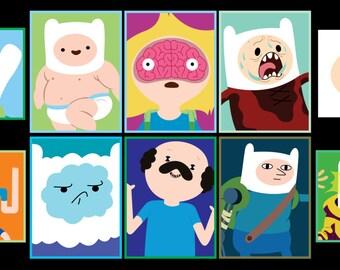 Adventure Time - Finn the Human Sticker 10pk
