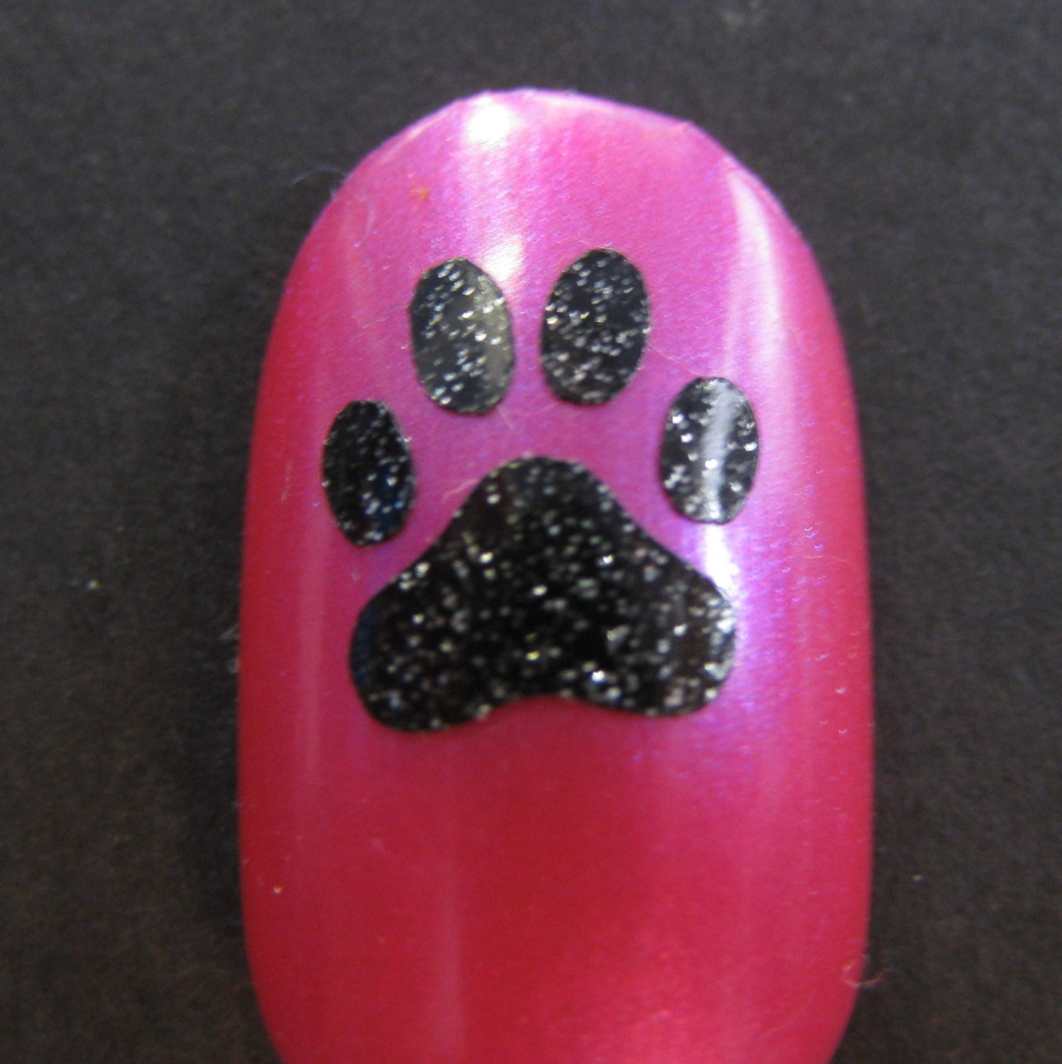 Paw Print Toe nail / finger nail decals / stickers / art