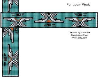 T Bird Bead Loom Pattern