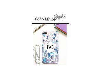 Personalised Unicorn Phone Case, Personalized Unicorn Phone Case