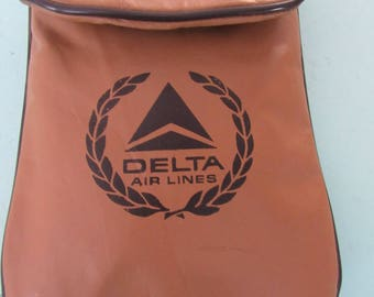 Vintage Delta Airlines Amenities Amenity Courtesy Kit Free Shipping