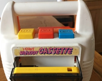 Charming little TOMY cassette player