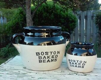 big bean pot and little bean pot