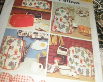Vintage Simplicity Sewing Pattern - Decorator Pattern, Kitchen Package -   1972-  #5495