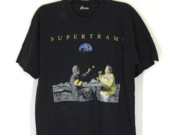 MEGA SALE 20% Rare! Vintage 70s 80s Supertramp T Shirt Size Xl