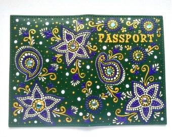 Cute passpord holder, designer passport cover
