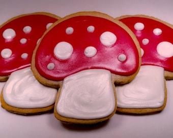 Toadstool Cookies (1 dozen)