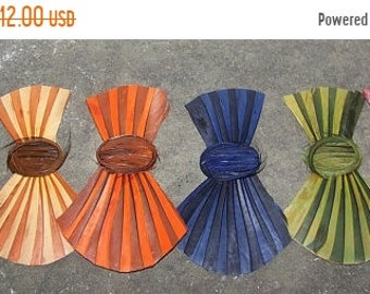 ON SALE Vintage Millinery Feather  Bow Hat Trim NOS Tags